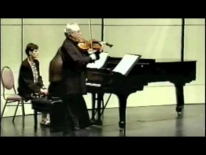 M.Kugel, Preghiera from Classical Preludes, ...in memoriam of my teacher Yuri Kramarov... viola: M.Kugel, piano: M.Gleizes. Int. Viola Congress 1999, Canada